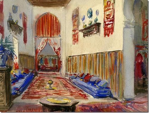 Casa del pintor. Tetuán