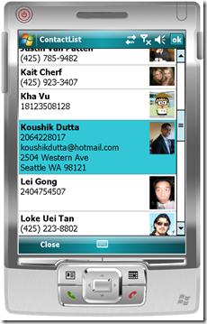 contactlist