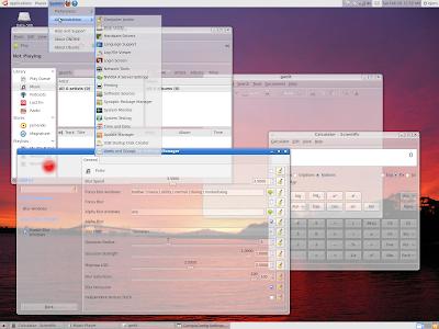 Merubah Window Linux Mint 10 Menjadi Transparan