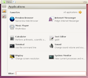 linux mint menu toggle items off