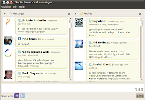 gwibber screenshot ubuntu 10.04 beta 1