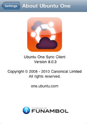 ubuntuone iphone app screenshot