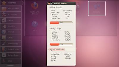 battery status ubuntu
