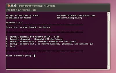 install hamachi script ubuntu