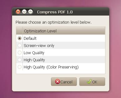 compress pdf script