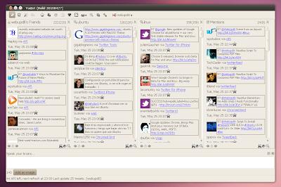 yasst twitter client screenshot