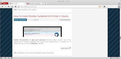 opera 10.60 ubuntu
