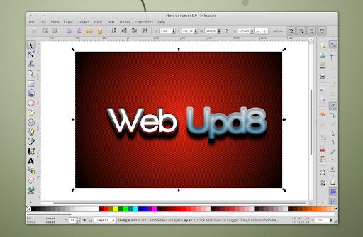 Install Inkscape Vector Graphics Editor In Ubuntu