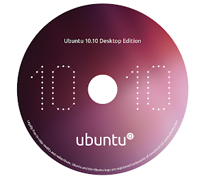 Ubuntu 10.10 CD cover