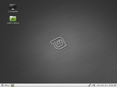 Linux Mint 10 Julia screenshot