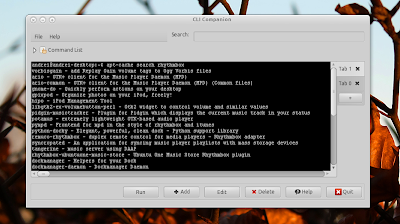 Cli companion screenshot
