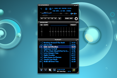 Audacious 2.4.2 winamp interface