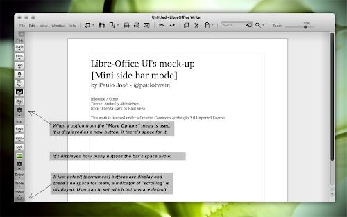 LibreOffice UI Mockups