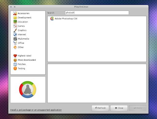 Photoshop Para Ubuntu