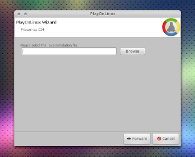 Photoshop CS4 playonlinux
