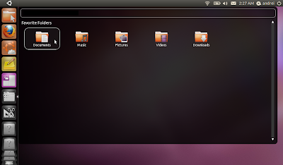 Ubuntu 11.04 natty narwhal screenshots