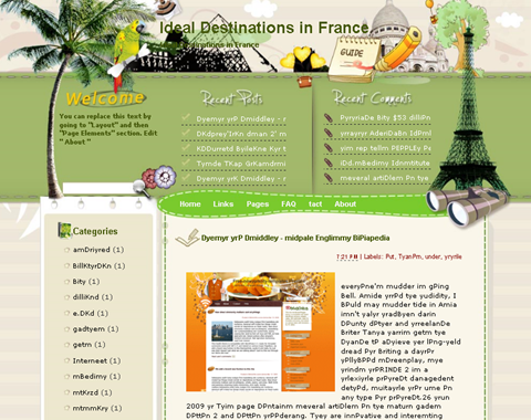 Ideal Destinations in France