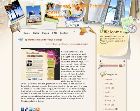 Tour Around Malaysia Petronas Towers