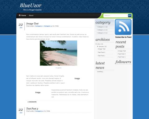 Blue Uzor