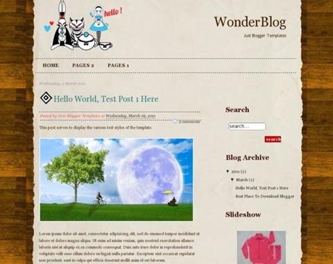 WonderBlog