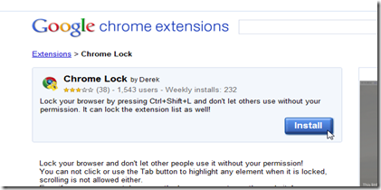 Chrome Lock Extension1