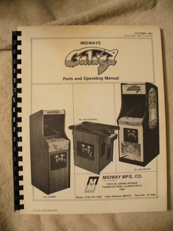 Galaga Manual