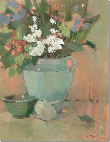 Dianne's Flowers, 16 x 12
