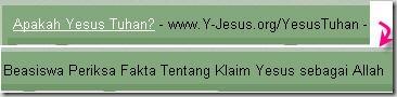 Apakah Yesus Tuhan