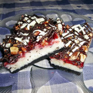 Raspberry Coconut Layer Bars