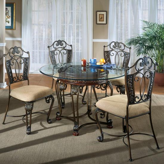 Dining Sets All American Mattress amp Furniture : Opulence20II20520Piece20Dinette20Set202020202473920202020D396 15 012842945B15D from sites.google.com size 550 x 550 jpeg 131kB
