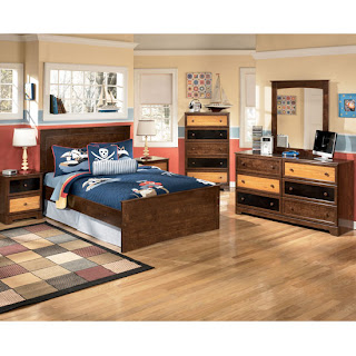 Vintage Kira Youth Panel Bed Alexander Youth Bedroom Set