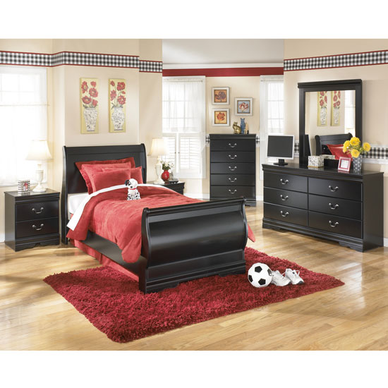 New Kira Youth Panel Bed Alexander Youth Bedroom Set