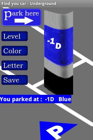 Find my car underground lite