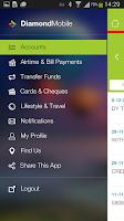Screenshot of Diamond Mobile