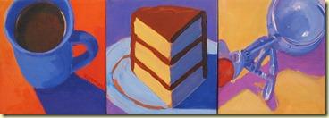 cake and icecream