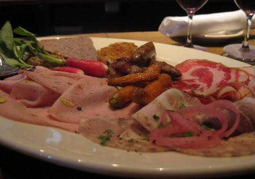 Charcuterie Plate at Incanto