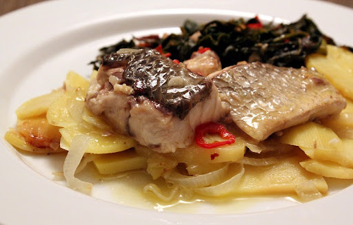 Sea Bass al Pil-Pil