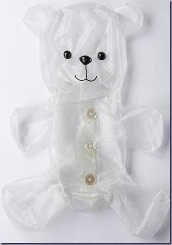 Embalagem-Saco-Formato-Ursinho-Guardar-Coisas-Vazio
