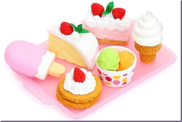Borrachas-Sobremesas-Geladas-Sorvete-Morango