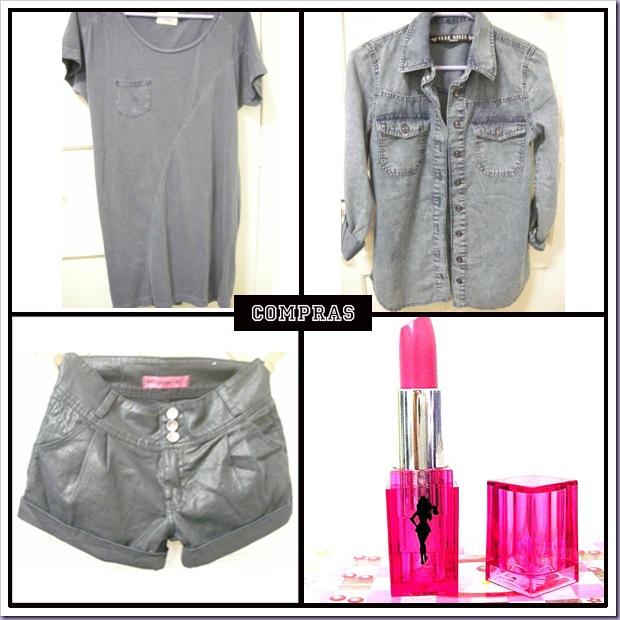Compras-T-Shirt-Short-Camisa-Jeans-Batom-Atitude-Pink-Risqué
