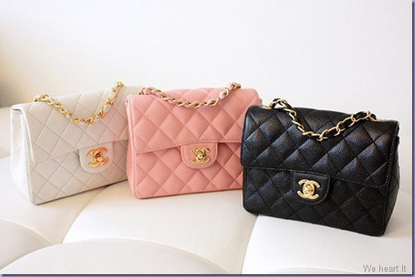 Chanel-Bolsas-Cores