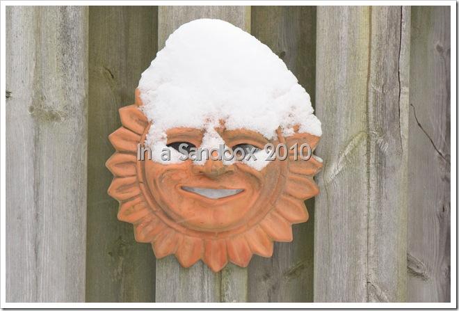 Sunman with snow