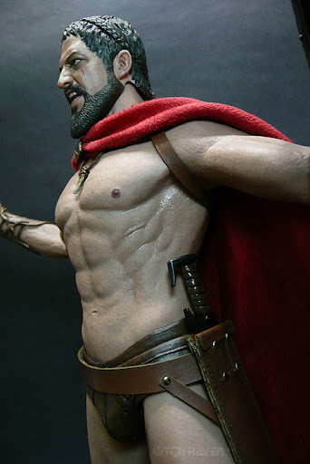 King Leonidas Real HOTTOYS HOT TOY...