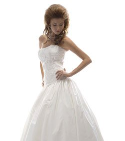 Women , White Wedding Dress