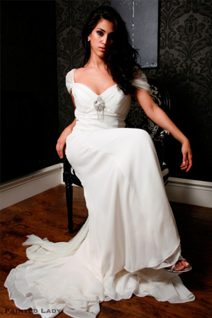 2009 39s Boldest Most Beautiful Wedding Gown Trends
