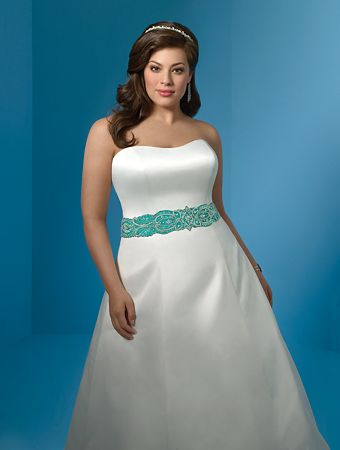 Summer Plus SIze Wedding Dresses
