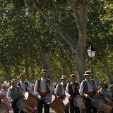 Procession at the Vallabregues Festival