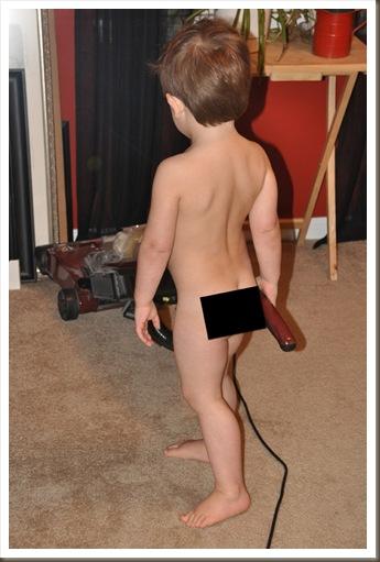 sam vacuums naked copy