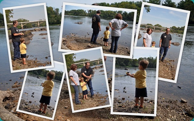 Highlights Sammy's First Fishing Trip collage 1