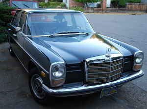 Four Wheels If You Are Lucky 1970 220d Mercedes 4000